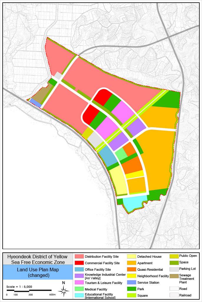 Land Use Plan Chart